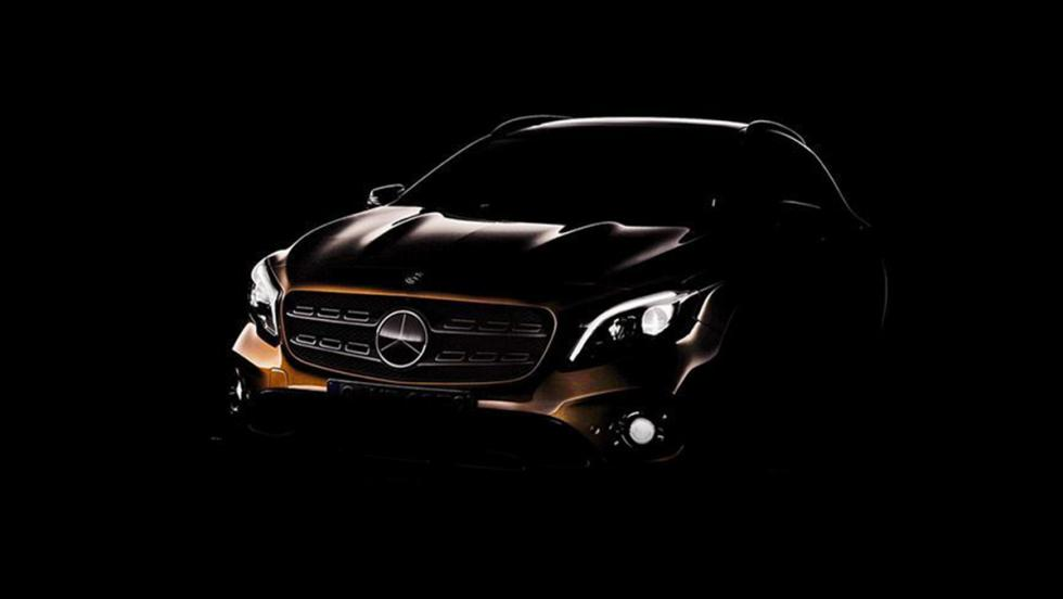 Primera imagen del Mercedes-Benz GLA 2017