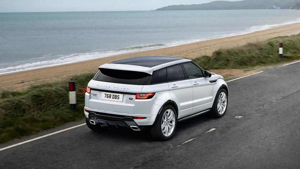 Prueba Range Rover Evoque alto de gama (II)