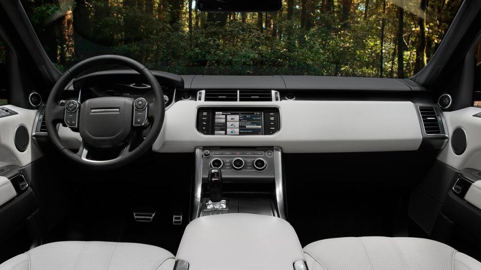 Range Rover Sport interior lujo suv