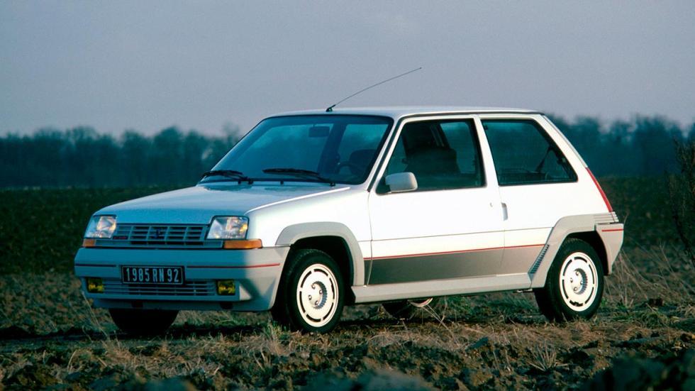 Renault 5 GT Turbo compacto deportivo
