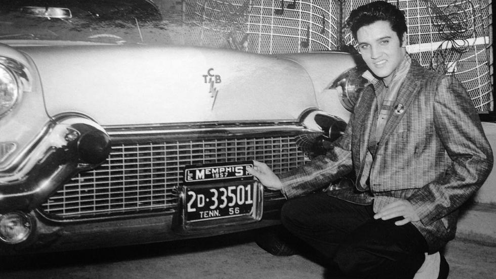 El Rey del Rock, un amante de los coches