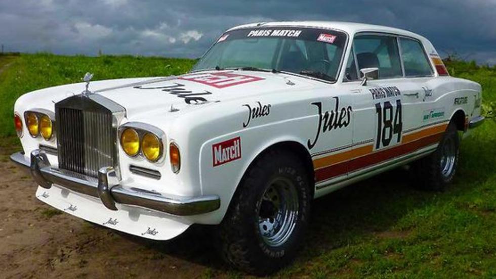 Rolls-Royce Corniche Coupé con chasis del Toyota FJ45 que compitió en el Dakar 1981