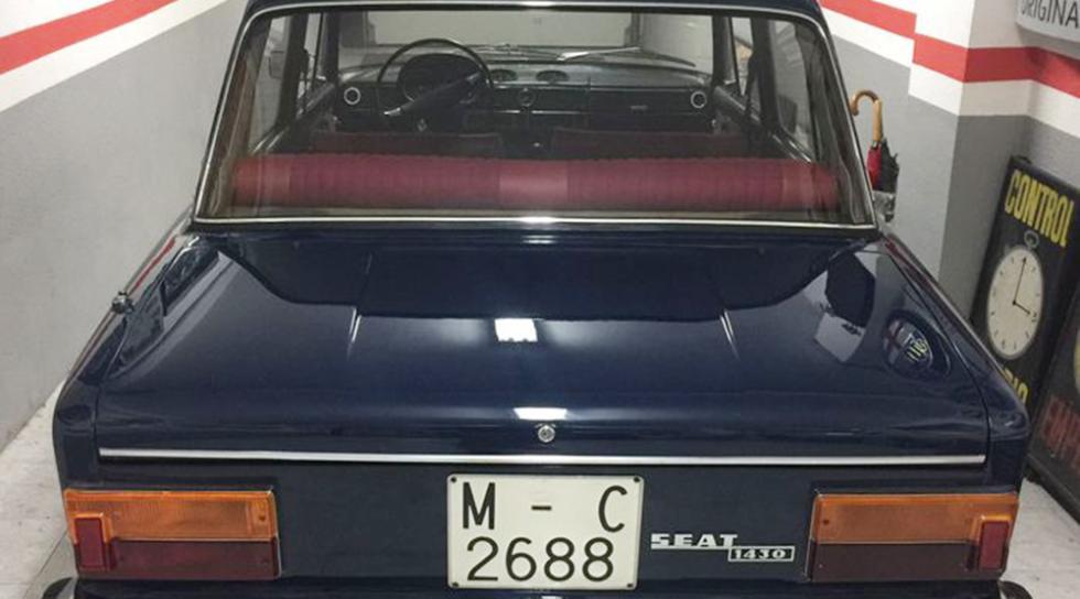 Se subasta el SEAT 1430 de Julio Iglesias