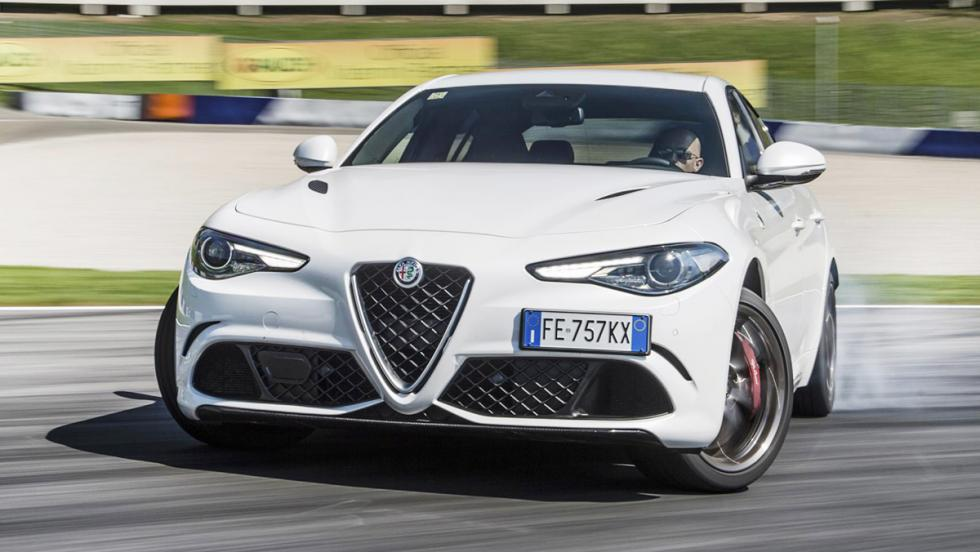 Todas las pruebas de Chris Harris para Top Gear - Alfa Romeo Giulia QV en la Speed Week