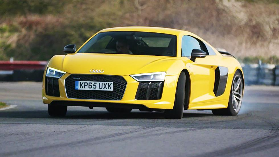 Todas las pruebas de Chris Harris para Top Gear - Audi R8 V10 Plus