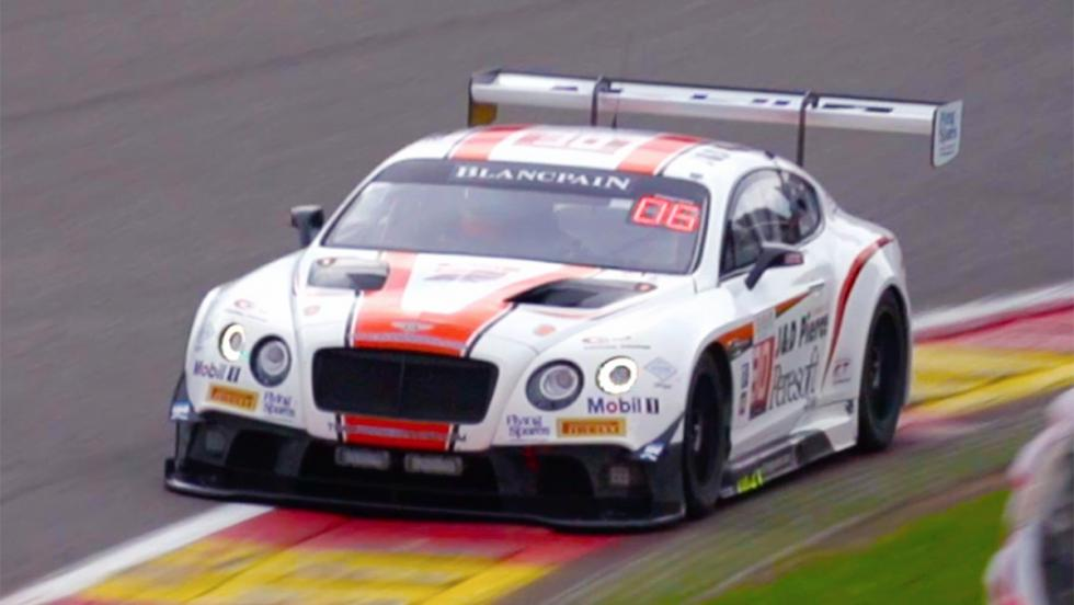 Todas las pruebas de Chris Harris para Top Gear - Bentley Continental GT3