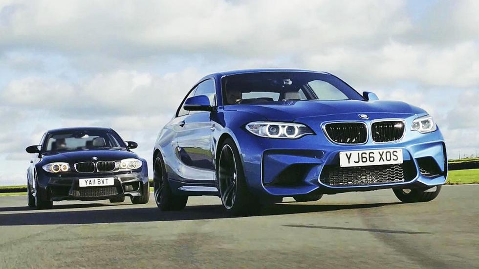 Todas las pruebas de Chris Harris para Top Gear - BMW M2 contra BMW 1M Coupé
