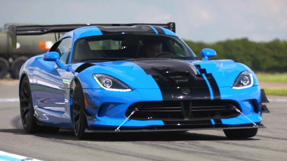 Todas las pruebas de Chris Harris para Top Gear - Dodge Viper ACR