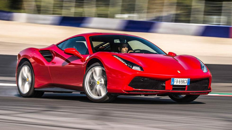 Todas las pruebas de Chris Harris para Top Gear - Ferrari 488 GTB