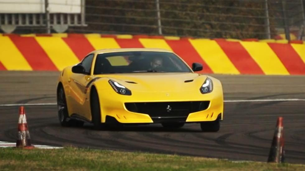 Todas las pruebas de Chris Harris para Top Gear - Ferrari F12tdf