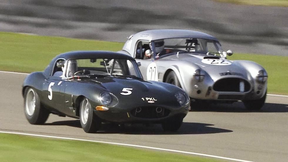 Todas las pruebas de Chris Harris para Top Gear - Jaguar E-Type en Goodwood