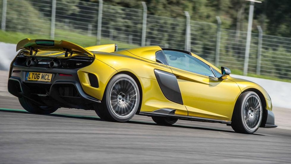Todas las pruebas de Chris Harris para Top Gear - McLaren 675LT Spider