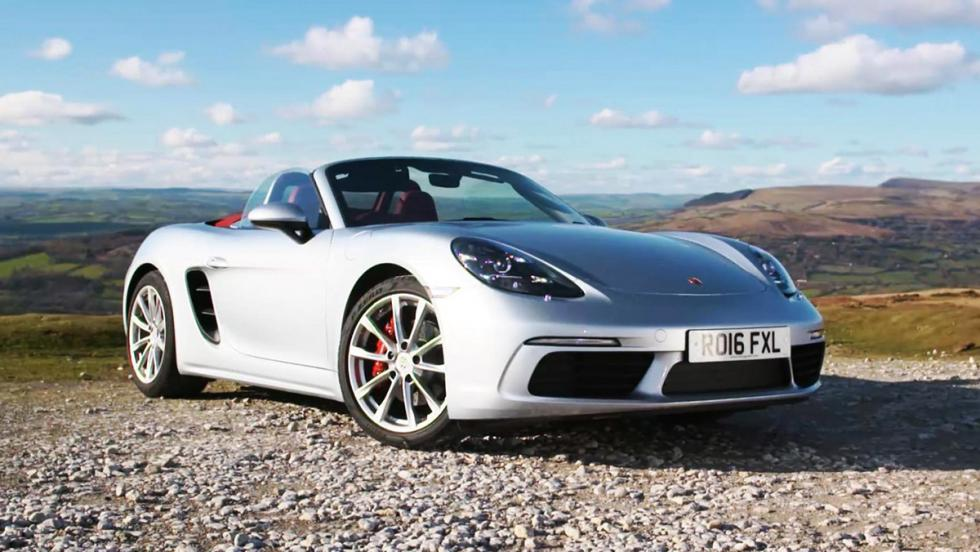 Todas las pruebas de Chris Harris para Top Gear - Porsche 718 Boxster