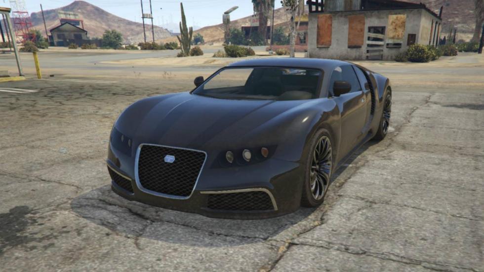 Truffade Adder - Bugatti SuperVeyron