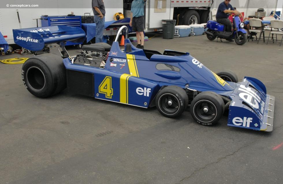 Tyrrell P34 de 1976