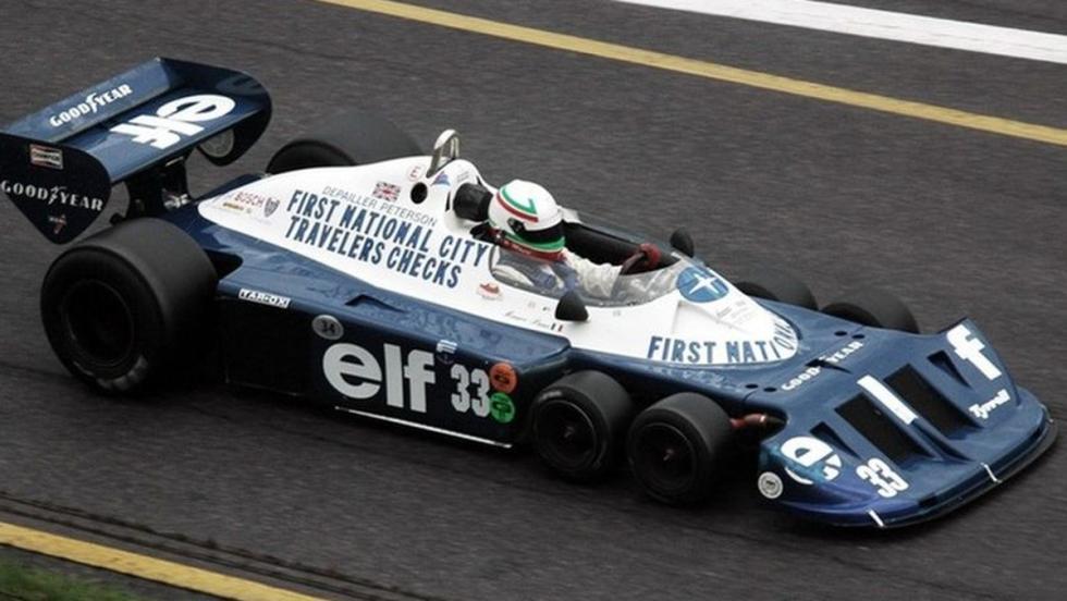 Tyrrell P34 evolucionado de 1977