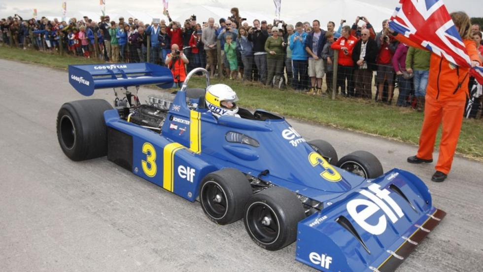 Tyrrell P34, el pionero de los f1 con seis ruedas