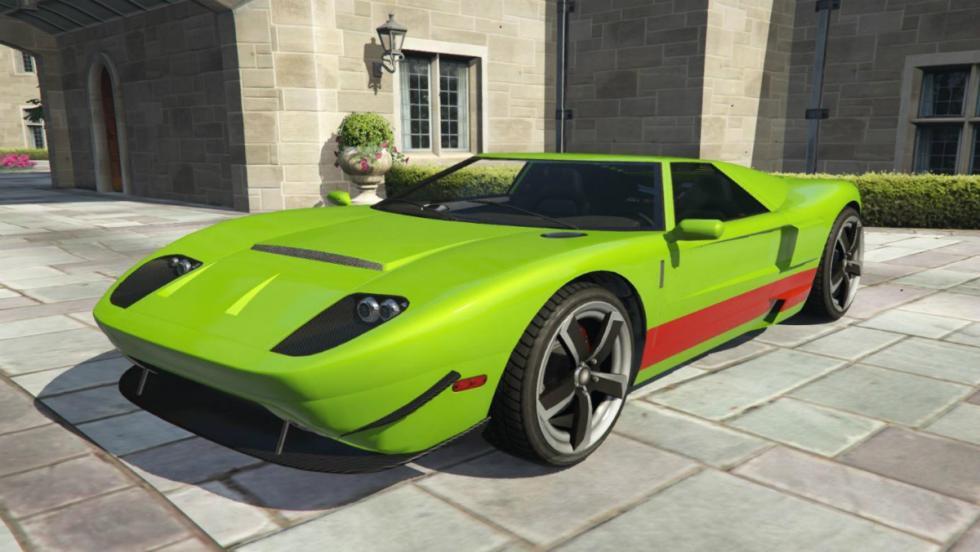 Vapid Bullet GT - Ford GT