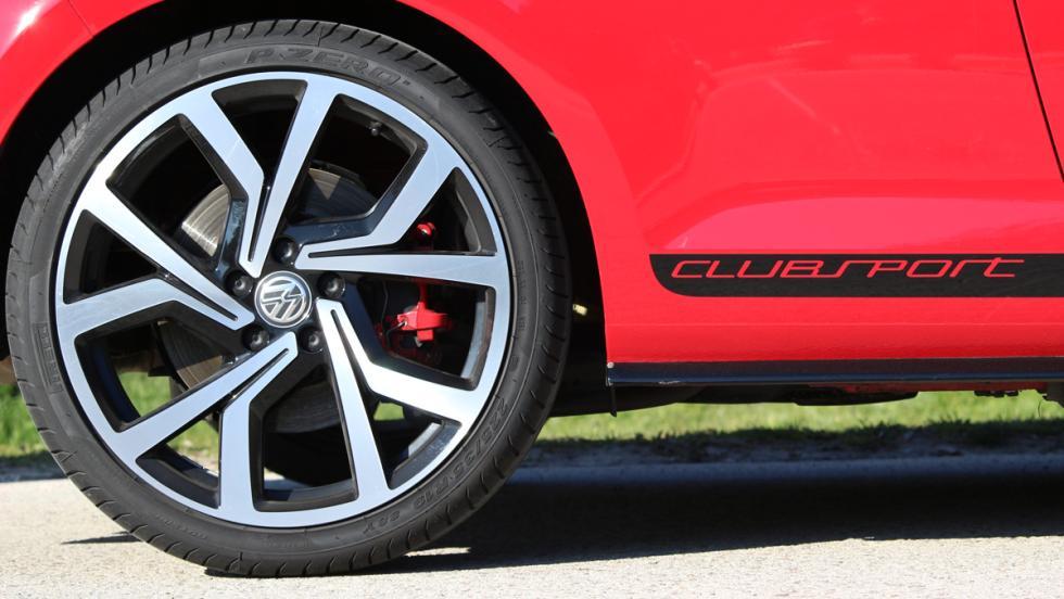Volkswagen Golf GTI Clubsport llanta