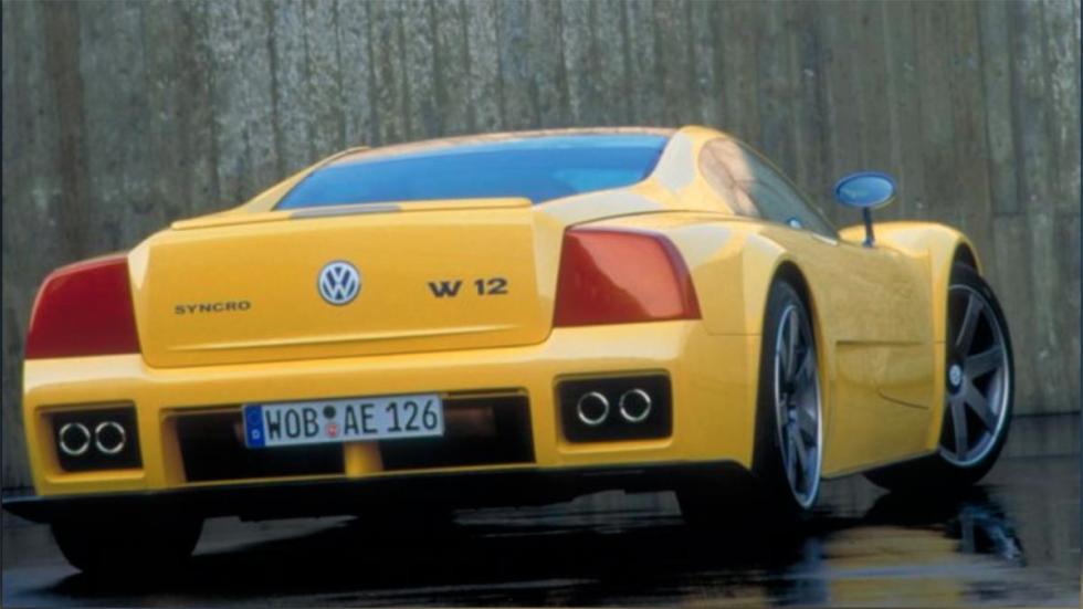 Volkswagen W12 superdeportivo concept prototipo