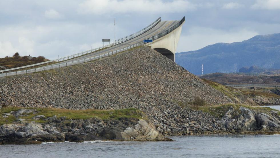 2- Carretera del Atlántico, en Noruega