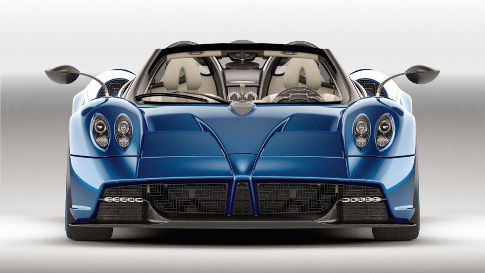 Pagani Huayra Roadster frontal estudio