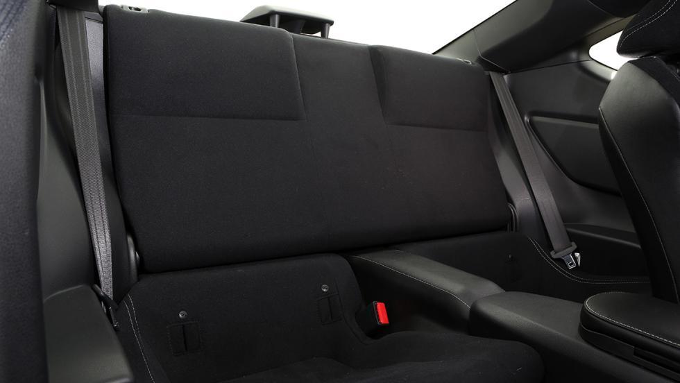 7 detalles que molan del Toyota GT86 2017 - Tiene cuatro plazas