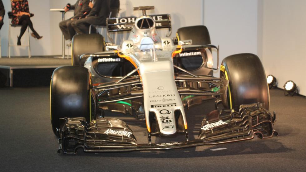 Ängulo anterior del Force India VJM10