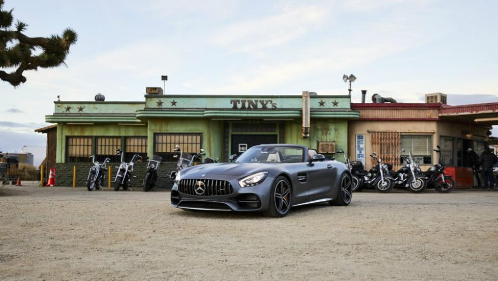 Anuncio Superbowl Mercedes-AMG GT C Roadster