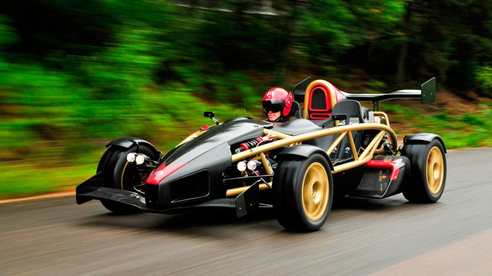 Ariel Atom V8 aceleración 160 km/h