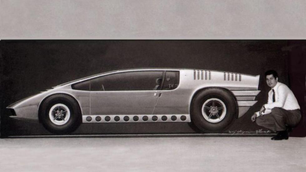Bizzarrini Manta concepts giugiaro italdesign prototipo