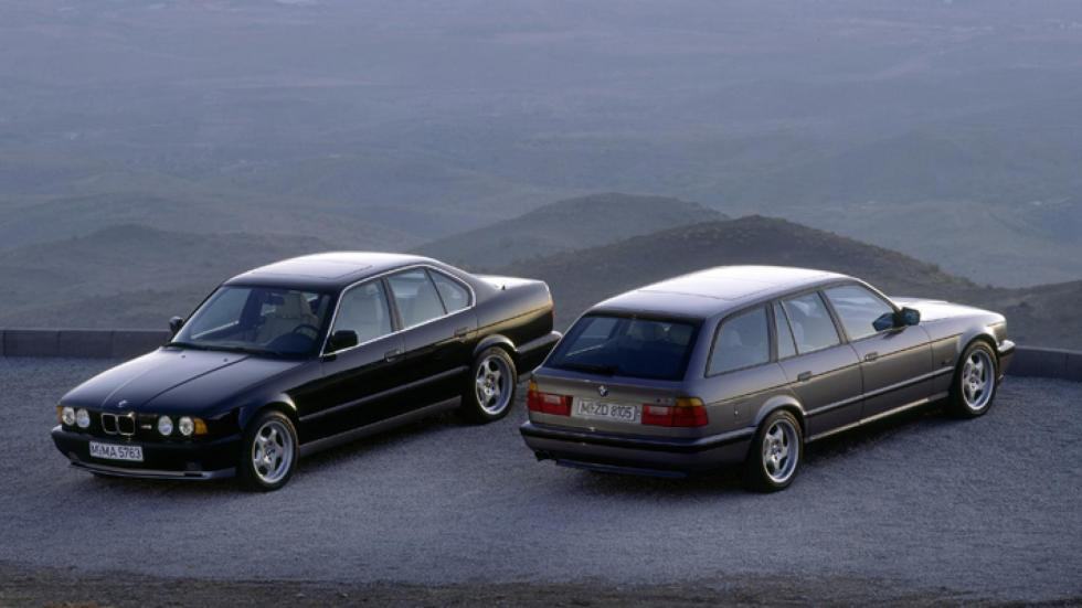 BMW M5 E34 deportivo familiar lujo berlina