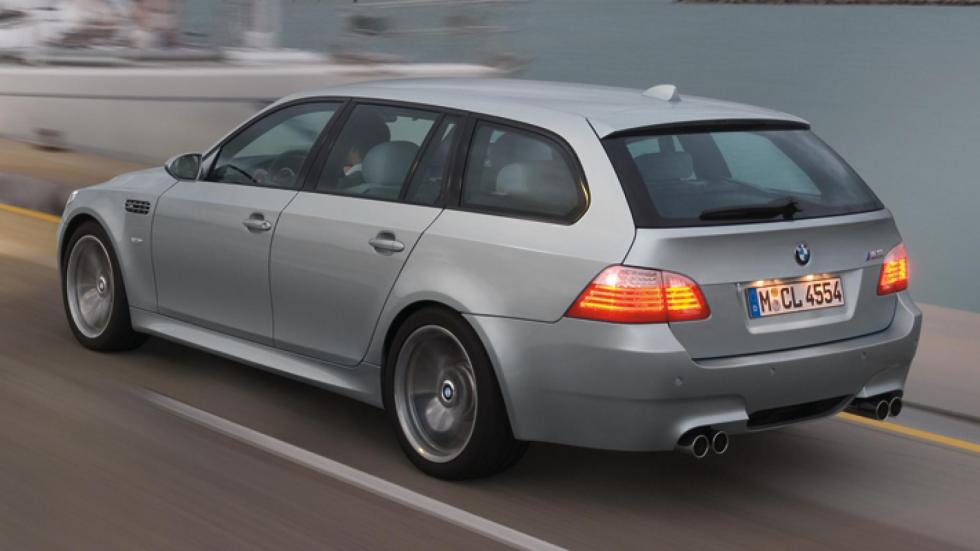 BMW M5 E60 deportivo berlina familiar