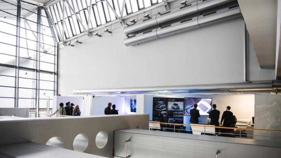Centro de Diseño de Mercedes instalaciones