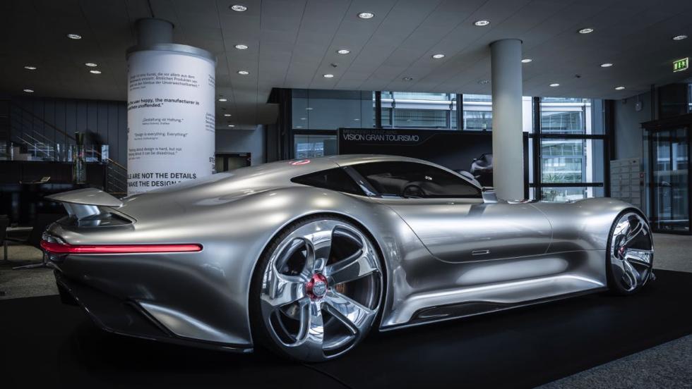 Centro de Diseño de Mercedes Gran Turismo