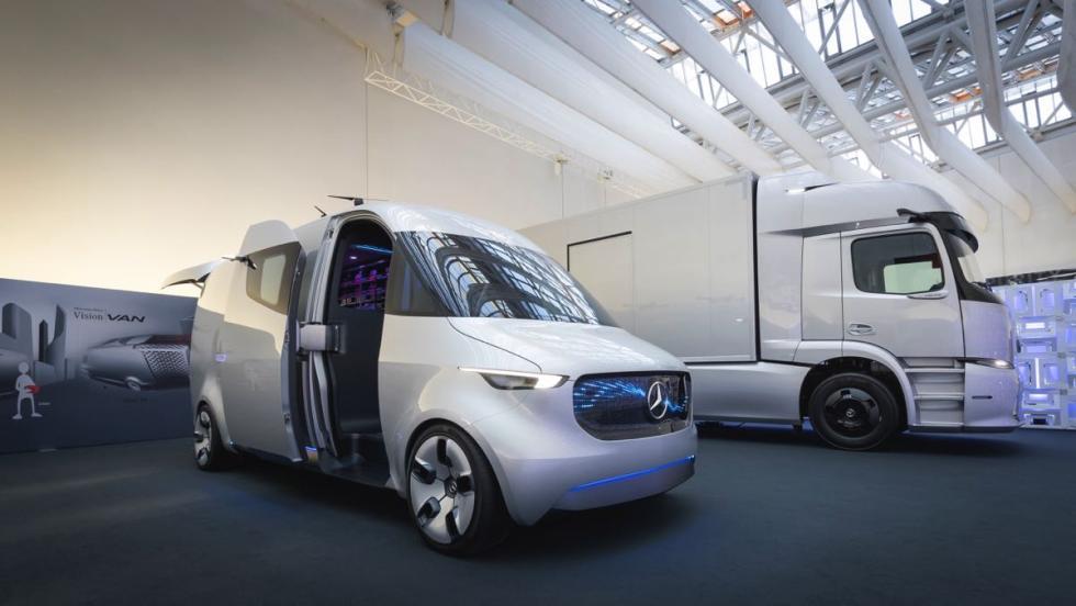 Centro de Diseño de Mercedes Vision Van