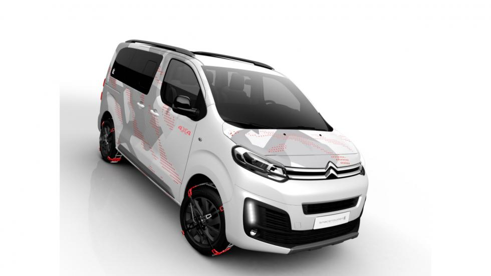 Citroën Spacetourer Ë concept frontal