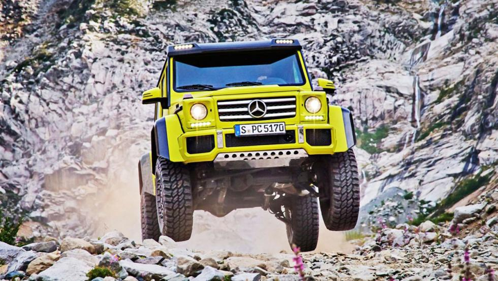 Coches para 'engañar' a tu pareja - Mercedes-Benz G500 4x4 al cuadrado