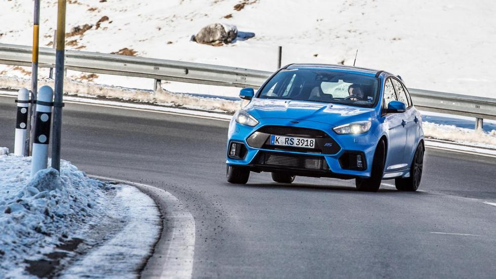 Coches haciendo drifting: Ford Focus RS