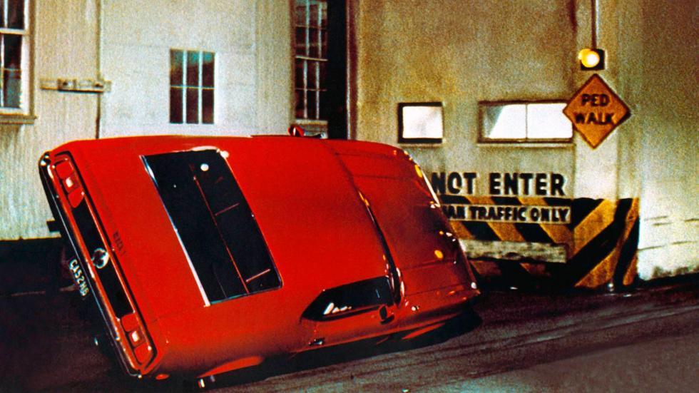 Los malos - Un fallo de los especialistas: el Mustang giratorio