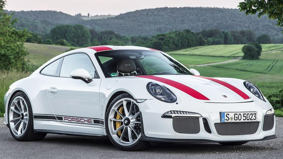 Coches de Óscar - Mejor cortometraje - Porsche 911 R