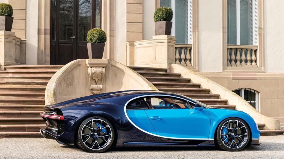 Coches de Óscar - Mejor fotografía - Bugatti Chiron