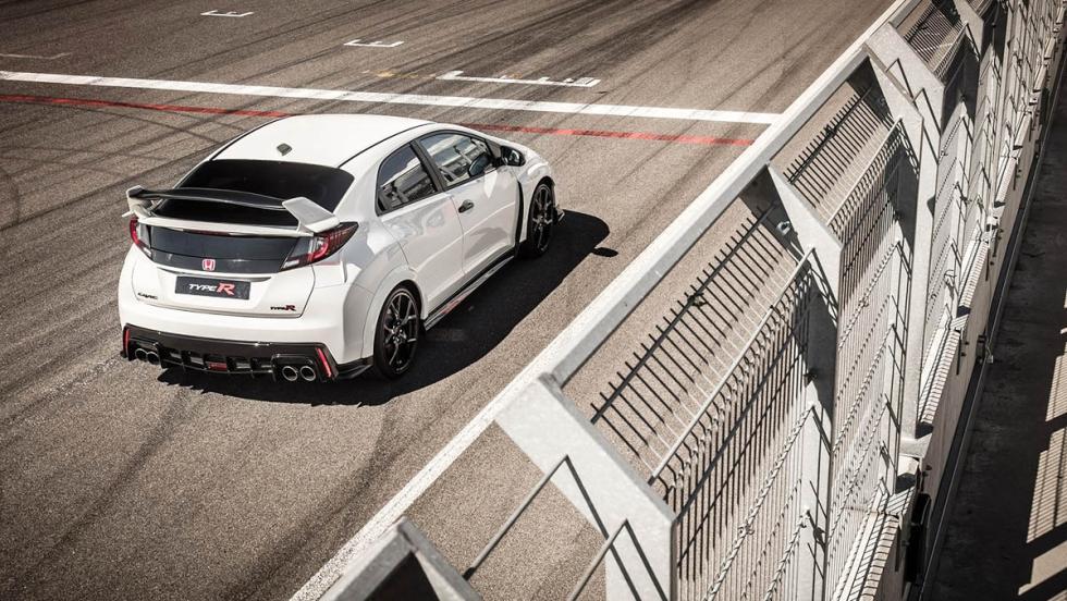 Coches de Óscar - Mejores efectos visuales - Honda Civic Type R