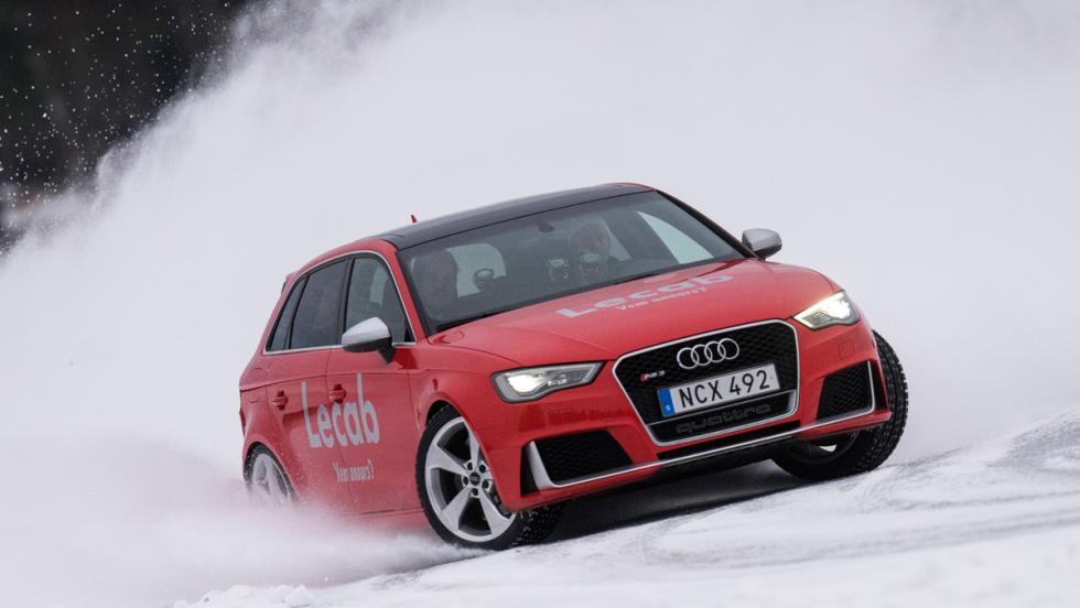Cómo conducir sobre hielo: Andreas Mikkelsen (I)