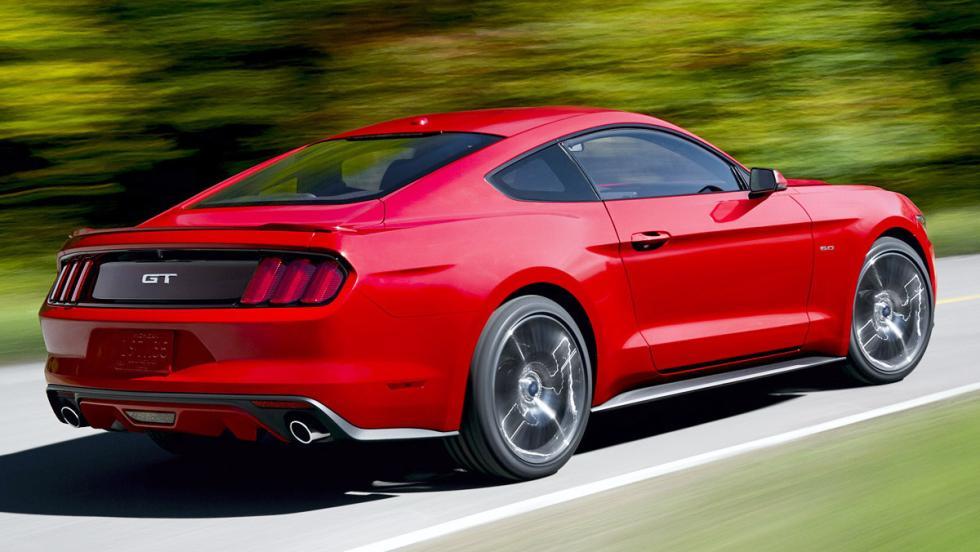 Los deportivos más vendidos en enero en España - Ford Mustang - 54 unidades