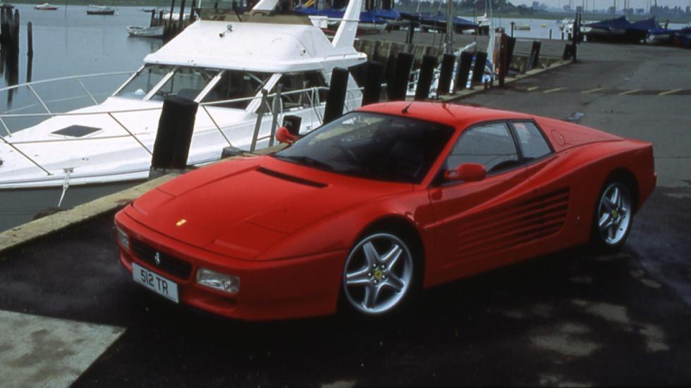 Ferrari 512 TR en Fiorano