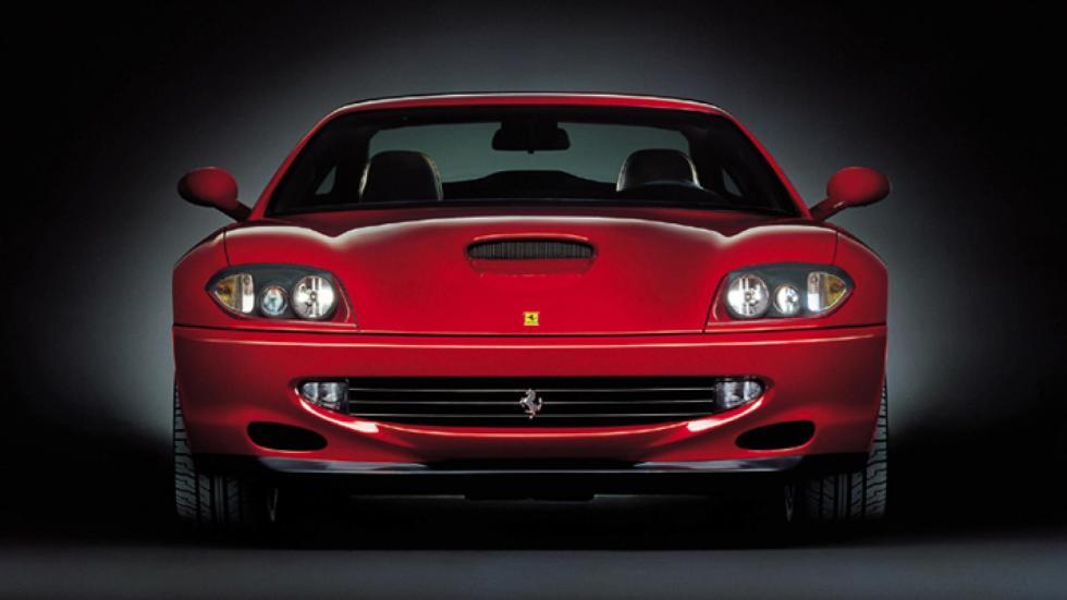 Ferrari 550 Maranello en Fiorano