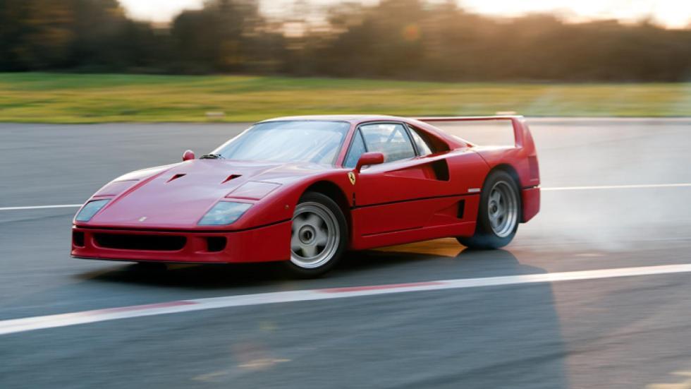 Ferrari F40 en Fiorano