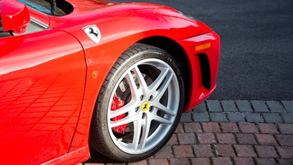 Ferrari F430 de Donald Trump (V)