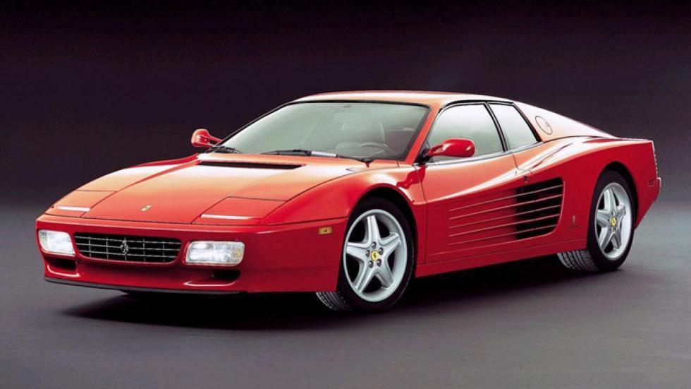 Ferrari Testarossa en Fiorano